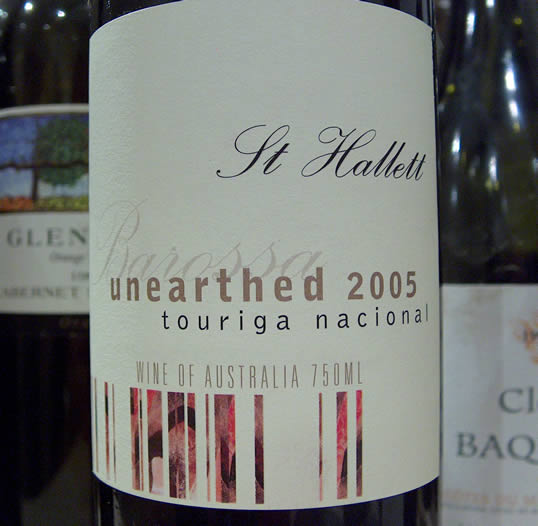 St hallett single vineyard