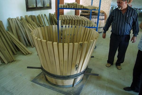 How to build wooden barrels