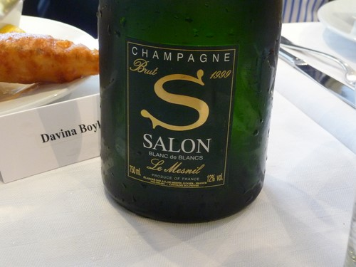 Champagne Salon 1999 is launched… with fish and chips! — Jamie ...