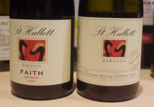 st hallett barossa shiraz